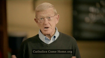 Catholics Come Home TV Spot Featuring Coach Lou Holtz - Thumbnail 4