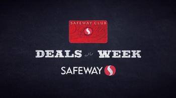Safeway Deals of the Week TV Spot, 'Lean Cuisine, Yoplait and Charmin' - Thumbnail 1