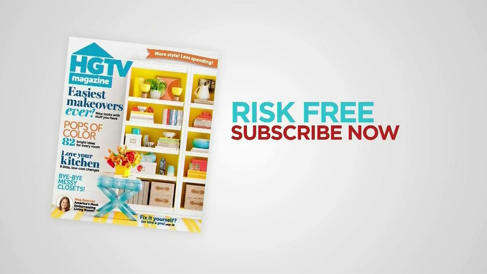 HGTV Magazine TV Commercial 'Free Trial' - Video
