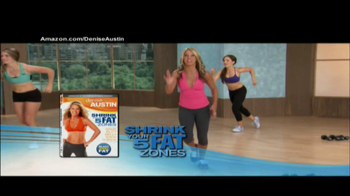 Denise Austin Fit in a Flash and Shrink Your 5 Fat Zones TV Spot