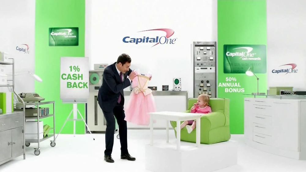 Capital One Cash Rewards Card TV Commercial, 'No' Featuring Jimmy Fallon