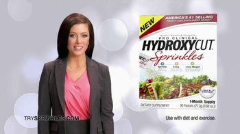 Hydroxy Cut Sprinkles TV Spot, 'Powerful Weight Loss'