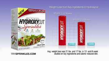 Hydroxy Cut Sprinkles TV Spot, 'Powerful Weight Loss' - Thumbnail 7