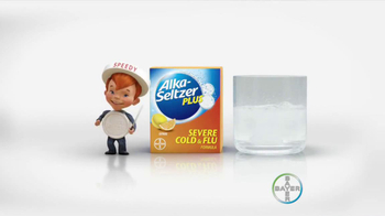 Alka-Seltzer Severe Cold and Flu TV Spot, 'Cold Truth: Flu Cough' - Thumbnail 9