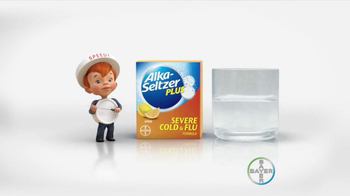 Alka-Seltzer Severe Cold and Flu TV Spot, 'Cold Truth: Flu Cough' - Thumbnail 8
