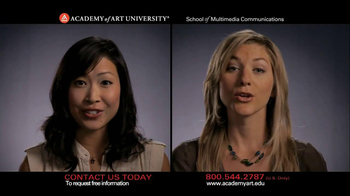 Academy of Art Univ School of Multimedia Communications TV Spot