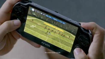 PlayStation Vita Madden NFL 13 TV Spot, 'Peacocking' - Thumbnail 2
