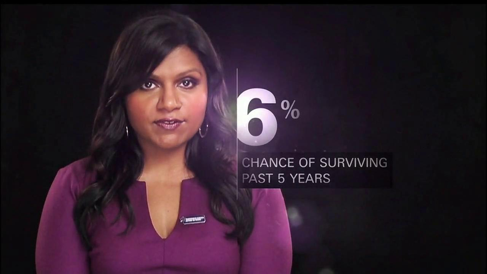 FOX Supports TV Commercial, 'Pancreatic Cancer Action Network' Feat. Mindy Kaling