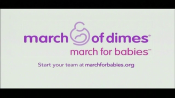 March of Dimes TV Spot 'March for Babies' Feat. Shawn Johnson  - Thumbnail 8