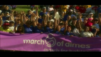 March of Dimes TV Spot 'March for Babies' Feat. Shawn Johnson  - Thumbnail 6