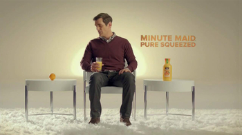 Minute Maid Pure Squeezed TV Spot, 'Role Reversal' Featuring Ty Burrell  - 362 commercial airings
