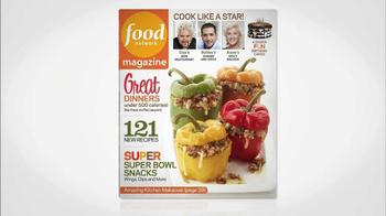 Food Network Magazine January/February 2013 TV Spot  - Thumbnail 1