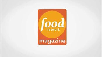 Food Network Magazine January/February 2013 TV Spot  - Thumbnail 4