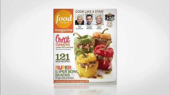 Food Network Magazine January/February 2013 TV Spot  - Thumbnail 8