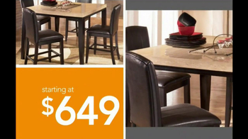 Ashley Furniture Homestore National Sale and Clearance  TV Spot  - Thumbnail 6
