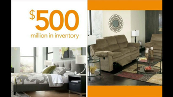 Ashley Furniture Homestore National Sale and Clearance  TV Spot  - Thumbnail 8