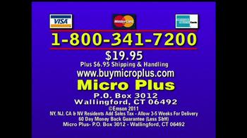 Micro Plus TV Spot  - Thumbnail 9