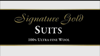 JoS. A. Bank TV Spot, 'Signature Gold Suits' - 39 commercial airings