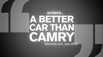 2013 Nissan Altima TV Spot, 'To Argue Would Be Rude' - Thumbnail 1