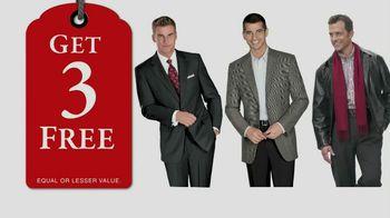 JoS. A. Bank TV Spot, 'Buy 1, Get 3 Free: Dec. 2012'