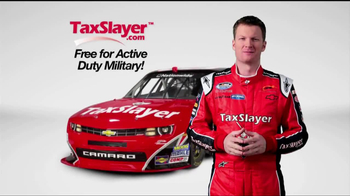 TaxSlayer.com TV Spot 'Free for the Military' Feat. Dale Earnhardt Jr - Thumbnail 3