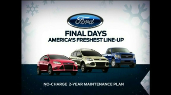 Ford Year End Celebration TV Spot, '7 Days to Save' - Thumbnail 5