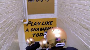 University of Notre Dame 2012: The Undefeated Season DVD TV Spot