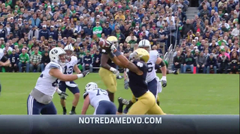 University of Notre Dame 2012: The Undefeated Season DVD TV Spot  - Thumbnail 3