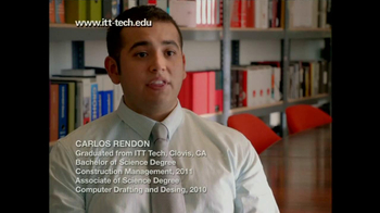 ITT Technical Institute School of Drafting and Design TV Spot, 'Specialist' - Thumbnail 2