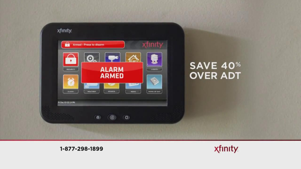 Xfinity Home TV Commercial 'Security'