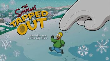 The Simpsons: Tapped Out TV Spot, 'Winter Update'