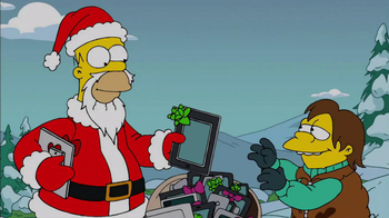 The Simpsons: Tapped Out TV Spot, 'Winter Update' - Thumbnail 1