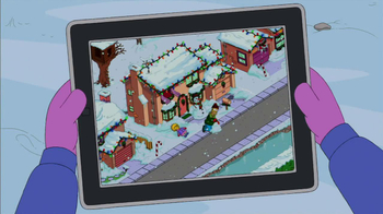 The Simpsons: Tapped Out TV Spot, 'Winter Update' - Thumbnail 3