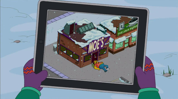 The Simpsons: Tapped Out TV Spot, 'Winter Update' - Thumbnail 4