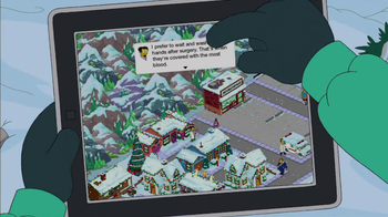 The Simpsons: Tapped Out TV Spot, 'Winter Update' - Thumbnail 6