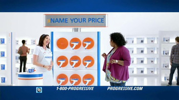 Progressive Name Your Price Tool TV Spot, 'Empowered' - 20343 commercial airings