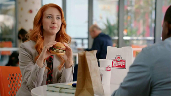 Wendy's Spicy Santa Fe Cheeseburger TV Spot, 'Billion-Degree Burrito'