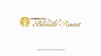 Starbucks Blonde Roast TV Spot, 'Mom Doesn't Drink Starbucks' - Thumbnail 6