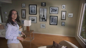 Command Picture Hanging Products TV Spot, 'Beautifully Decorated Walls'