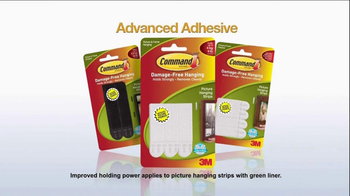 Command Picture Hanging Products TV Spot, 'Beautifully Decorated Walls' - Thumbnail 10