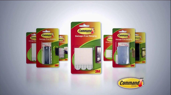 Command Picture Hanging Products TV Spot, 'Beautifully Decorated Walls' - Thumbnail 2