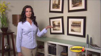 Command Picture Hanging Products TV Spot, 'Beautifully Decorated Walls' - Thumbnail 7