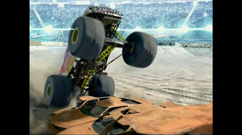 Hot Wheels Monster Jam Triple Blast Arena  TV Spot  - Thumbnail 1