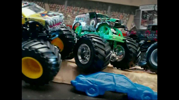 Hot Wheels Monster Jam Triple Blast Arena  TV Spot  - Thumbnail 3