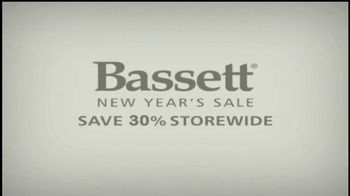 Bassett New Year's Sale TV Spot