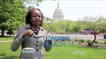 Gallaudet University TV Spot, 'Community' - Thumbnail 4