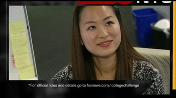 Fox News Channel College Challenge TV Spot  - Thumbnail 7