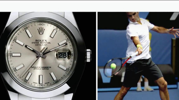 Rolex Oyster Perpetual TV Spot Featuring Roger Federer - Thumbnail 8