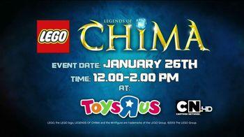 LEGO Legends of Chima Speedorz TV Spot, 'Challenge Series Event'
