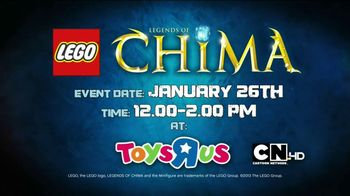 LEGO Legends of Chima Speedorz TV Spot, 'Challenge Series Event'